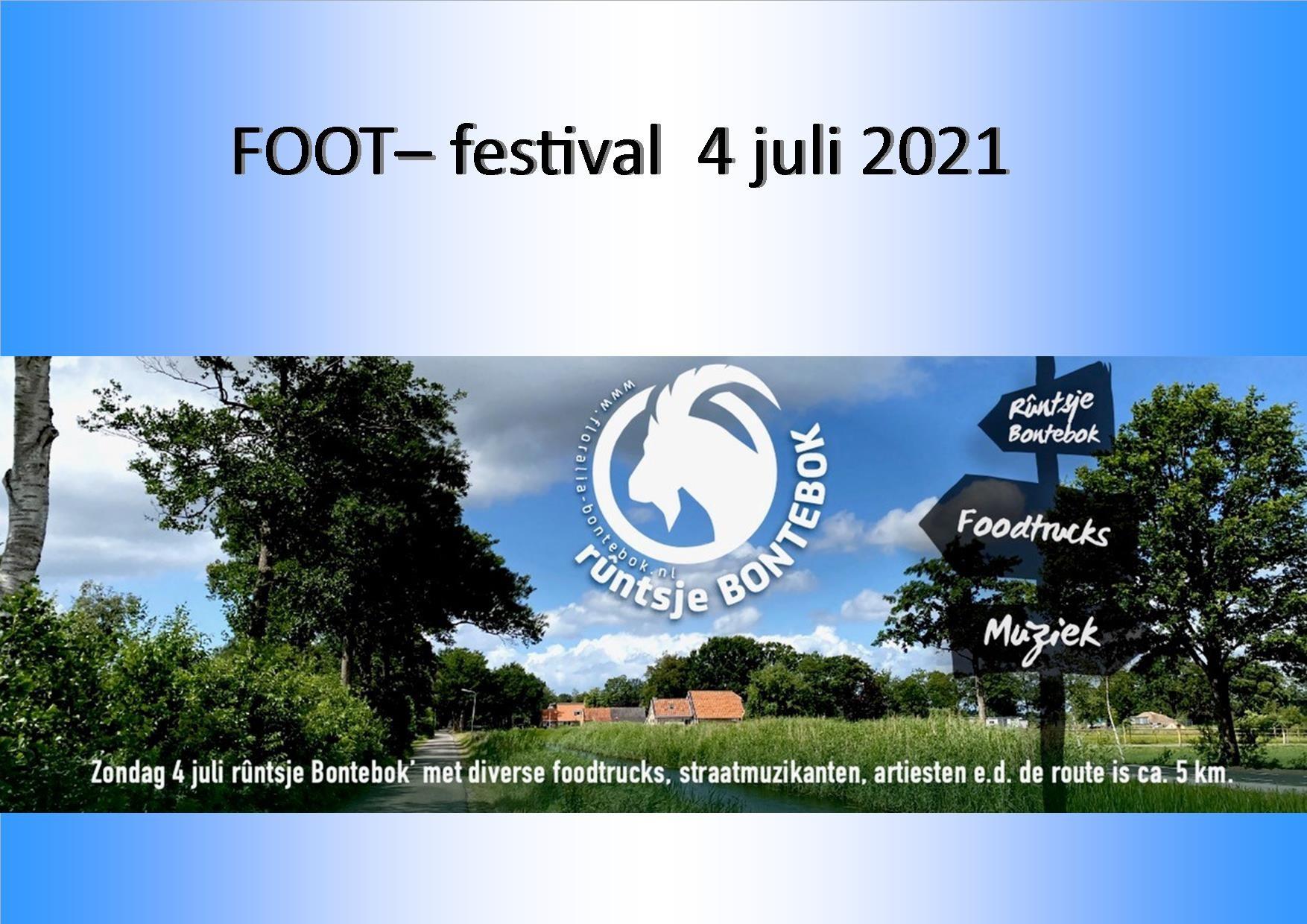 Foot festival voorkant