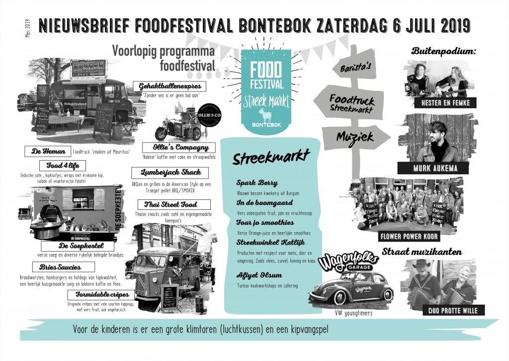 nieuwsbrief Foodfestival mei